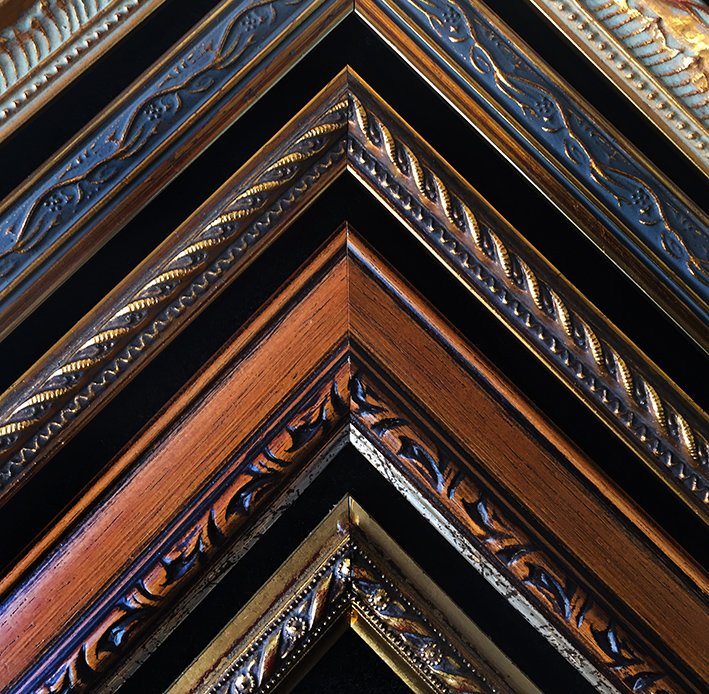 We have many samples of frames available to select from. Drop in to view our range Directions
